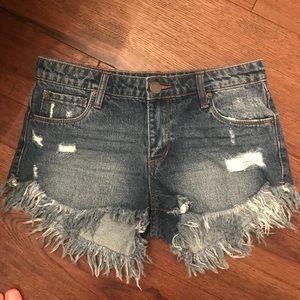 STS Cut Off Denim Shorts